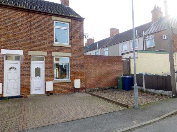 2 Bedrooms End Of Terrace House for rent in Cemetery Road, Worksop