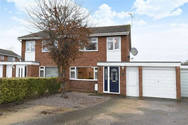 3 Bedrooms Semi Detached House for sale in Squires Road, Marston Moretaine, Bedford