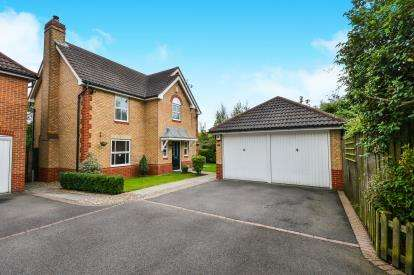4 Bedrooms Detached House for sale in Grange Farm Close, Sutton-In-Ashfield, Nottinghamshire