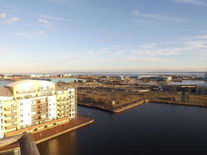 2 Bedrooms Flat for sale in Vega House, Falcon Drive, Celestia, Cardiff Bay