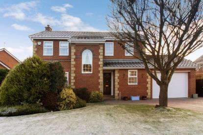 4 Bedrooms Detached House for sale in Carr Field, Ponteland, Newcastle, Northumberland, NE20