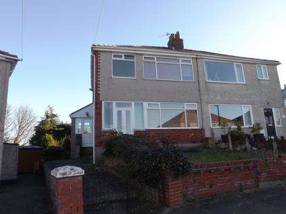 3 Bedrooms Semi Detached House for sale in Hestham Avenue, Morecambe, Lancashire, United Kingdom, LA4