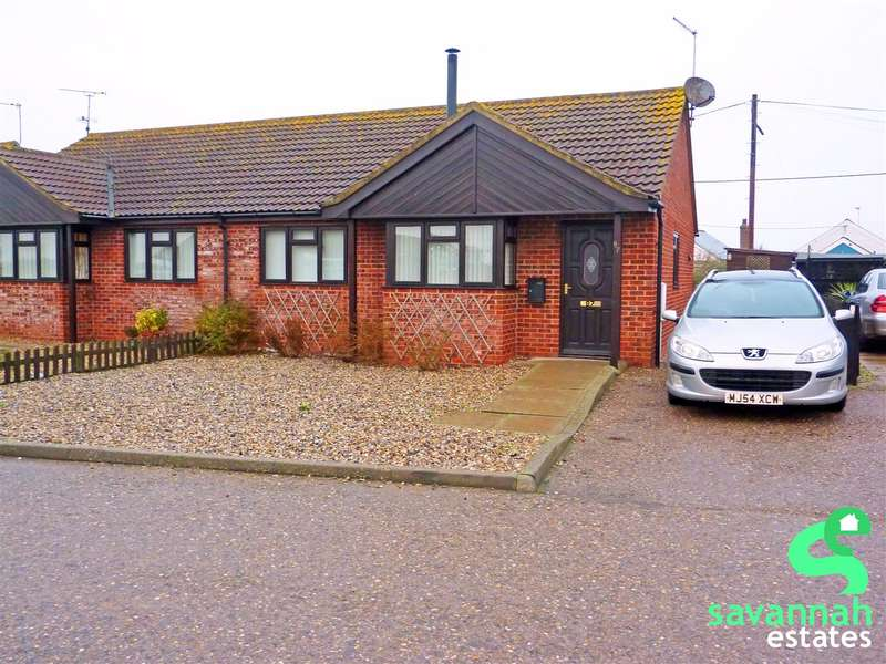 2 Bedrooms Bungalow for sale in Walcott, Norwich, NR12