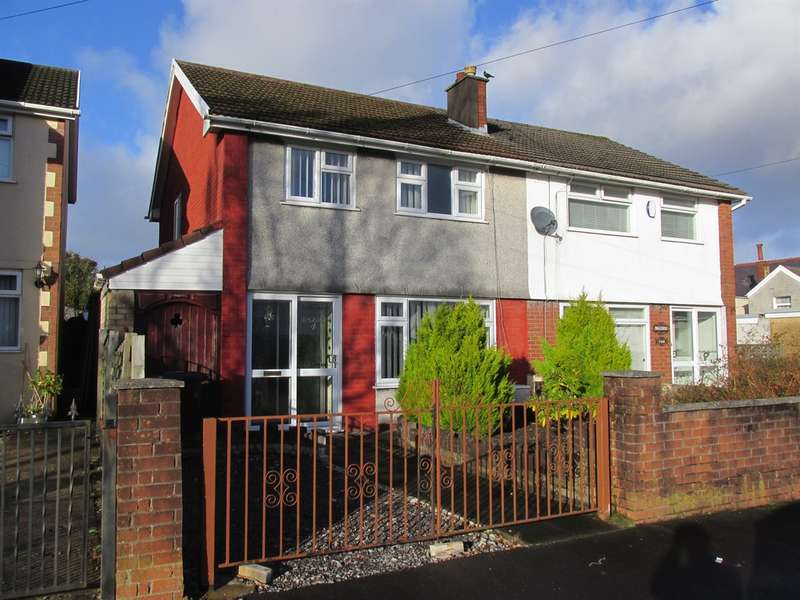 3 Bedrooms Semi Detached House for sale in Hillside, Aberdare