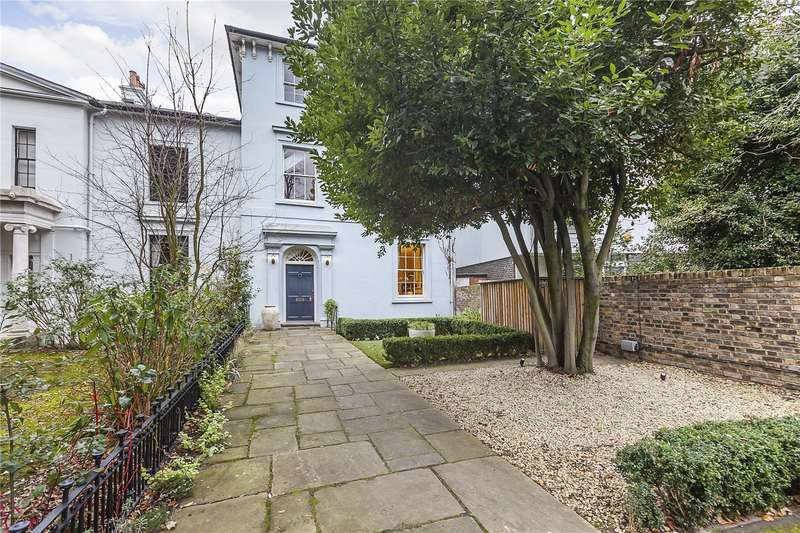 4 Bedrooms Semi Detached House for sale in Blackheath Park, London, SE3