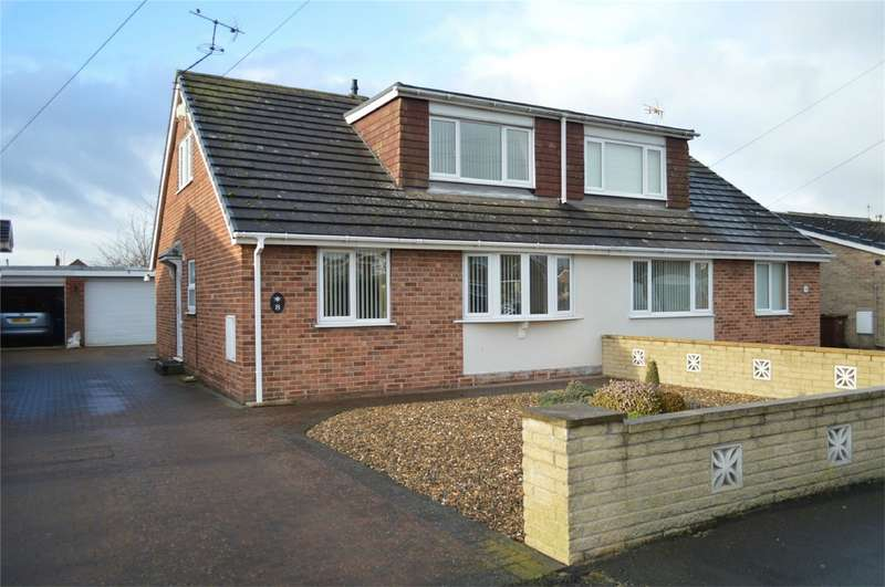 4 Bedrooms Semi Detached Bungalow for sale in 8 Adeliza Garth, Acklam Road, Hedon