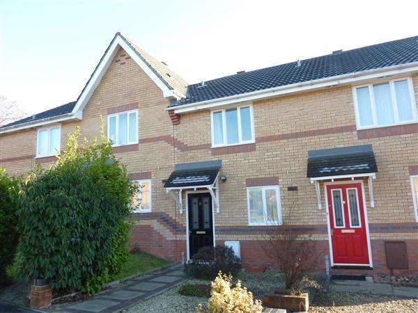2 Bedrooms Terraced House for rent in Garvey Close, Thornwell, Chepstow