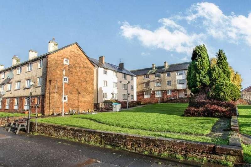 1 Bedroom Flat for rent in Burns Street, Dumfries, DG1