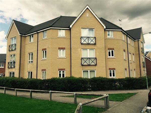 2 Bedrooms Apartment Flat for rent in Saturn Road, Blakenham Park, IPSWICH IP1 5PS
