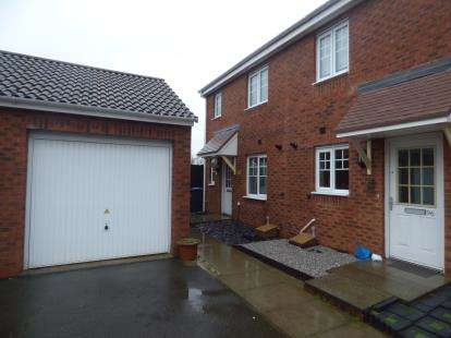 3 Bedrooms End Of Terrace House for sale in Izod Road, Rugby