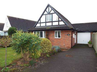 2 Bedrooms Bungalow for sale in St. Matthews Close, Haslington, Crewe, Cheshire