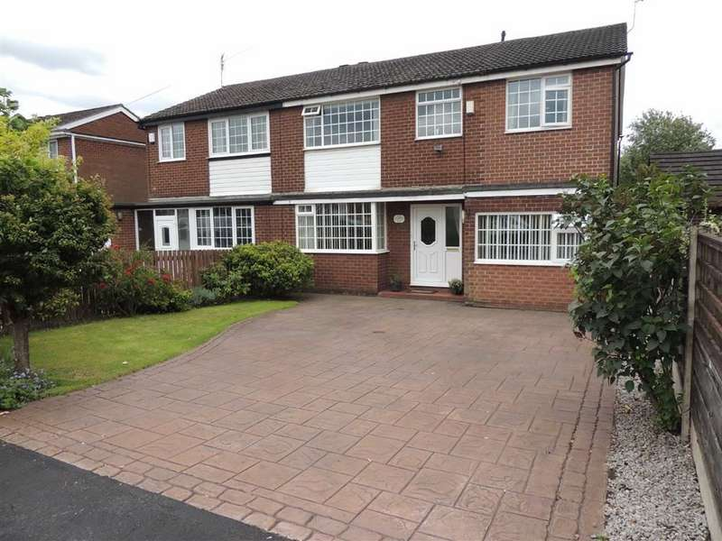 4 Bedrooms Semi Detached House for sale in Marple Road, Offerton, Stockport