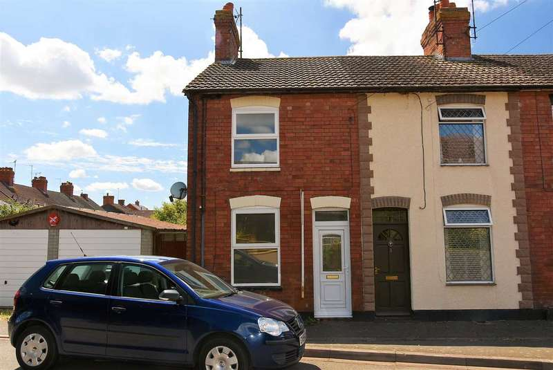 2 Bedrooms End Of Terrace House for rent in Cambridge Street, Wymington, Rushden, NN10 9LG