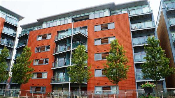 2 Bedrooms Apartment Flat for rent in Orwell Quay, Ipswich