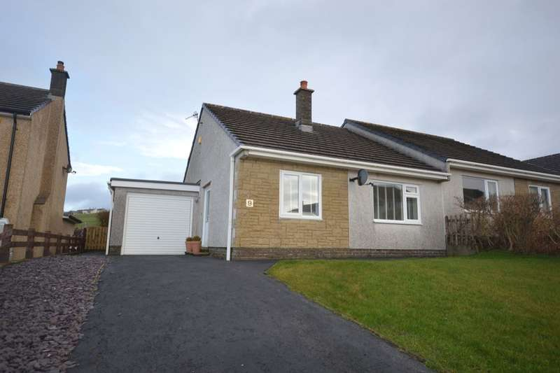 2 Bedrooms Semi Detached Bungalow for sale in Burton High Close, Harras Moor, Whitehaven, CA28