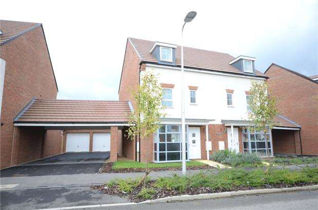 4 Bedrooms Semi Detached House for sale in Whitlock Avenue, Wokingham, Berkshire