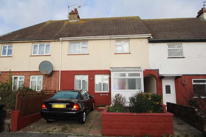 3 Bedrooms Terraced House for sale in Gladstone Road, Portslade, East Sussex, BN41 1LJ
