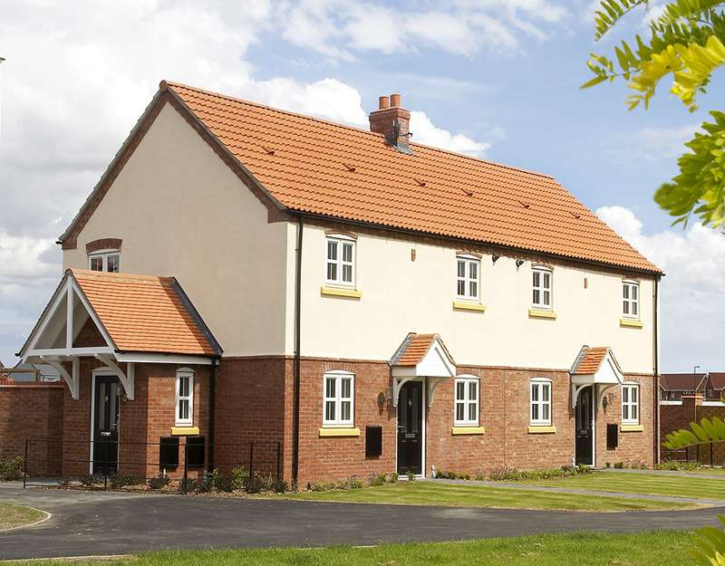 1 Bedroom Apartment Flat for sale in Plot 150 The Soho, The Swale, Corringham Road DN21