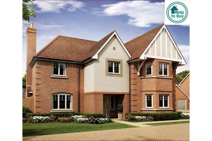 5 Bedrooms Detached House for sale in The Albury at Spring Meadows, Stonbow Road, Worcester