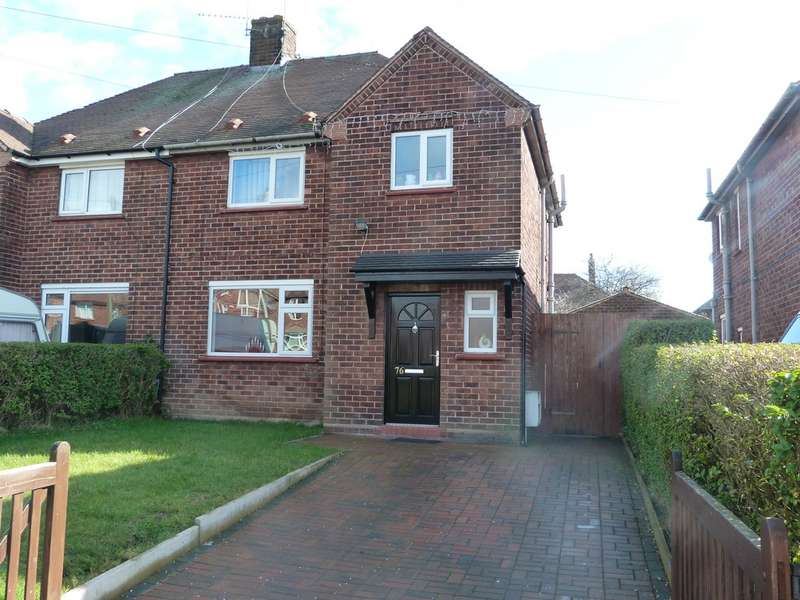 3 Bedrooms Semi Detached House for sale in Prunus Road, Crewe CW1