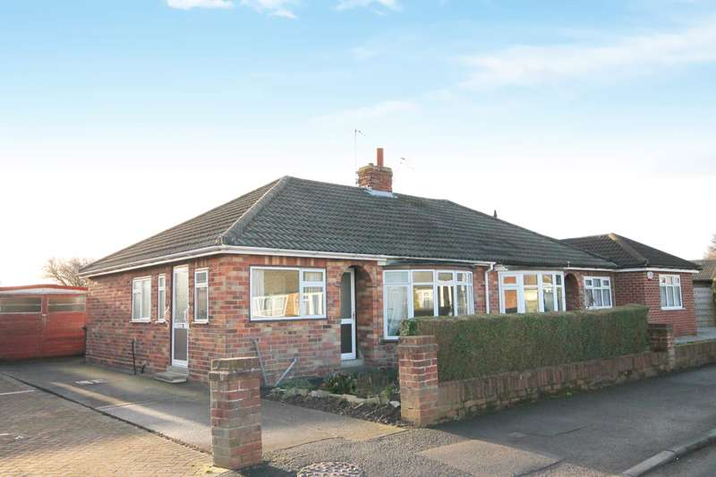 2 Bedrooms Semi Detached Bungalow for sale in Ashley Park Road, York, YO31 1HW
