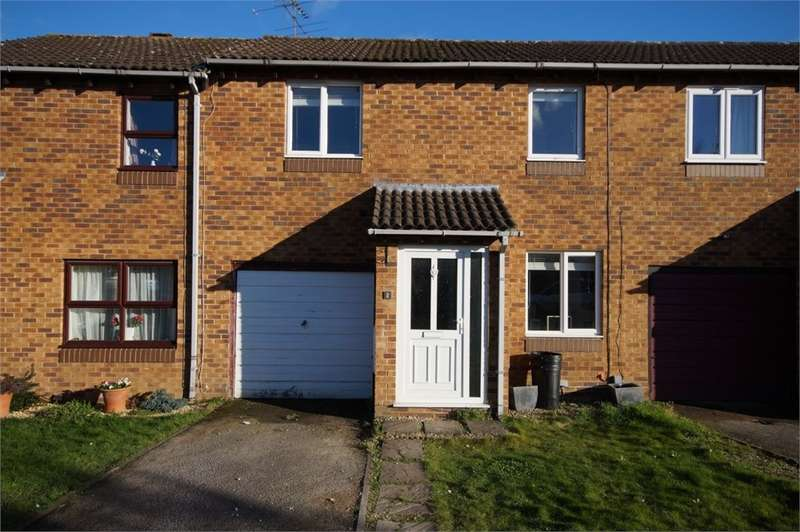 2 Bedrooms Terraced House for sale in Harrington Close, Lower Earley, READING, Berkshire