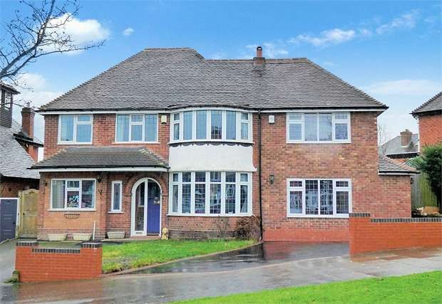 5 Bedrooms Detached House for sale in Kingshill Drive, Birmingham, West Midlands