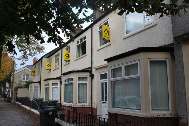 7 Bedrooms Terraced House for rent in Senghenydd Road, Cathays, Cardiff, CF24 4AG