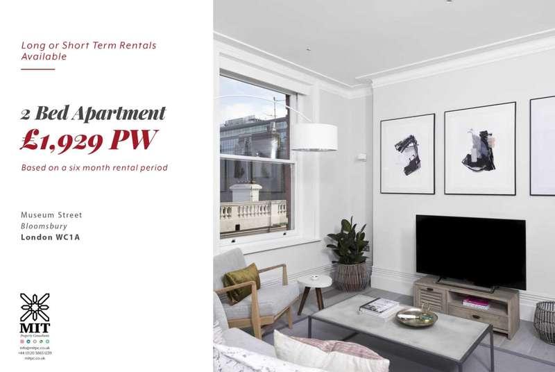 2 Bedrooms Apartment Flat for rent in Museum Street, Bloomsbury
