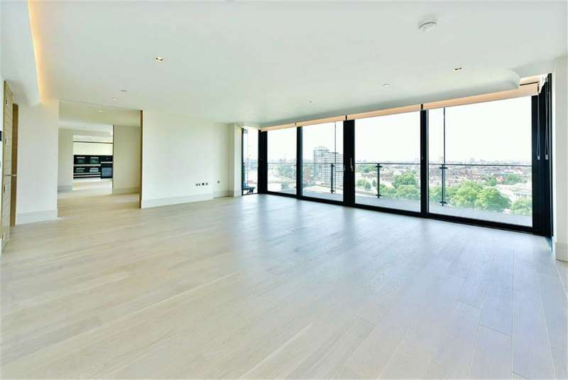 3 Bedrooms Apartment Flat for sale in Merano Residences, South Bank, London