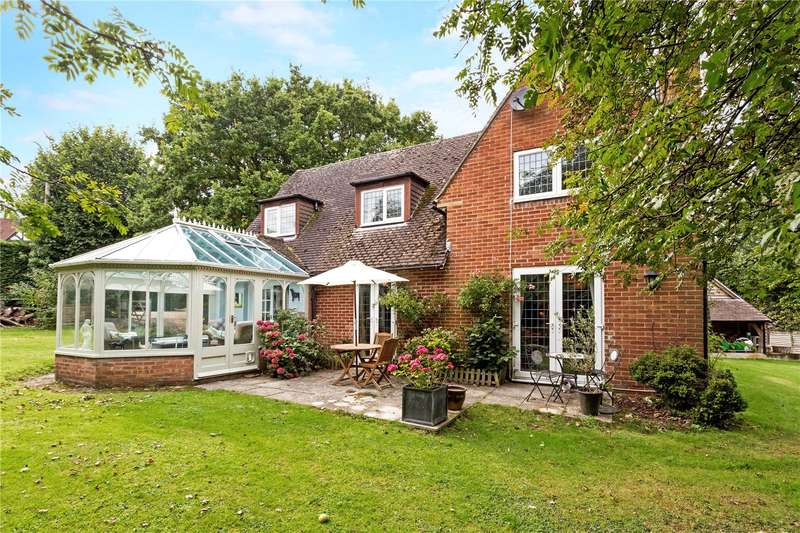 4 Bedrooms Detached House for sale in Goodings Lane, Woodlands St. Mary, Hungerford, Berkshire, RG17