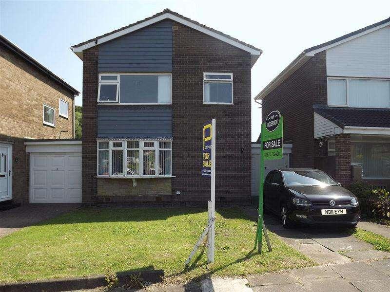 3 Bedrooms Link Detached House for sale in Harnham Grove, Cramlington - Three Bedroom Link Detached