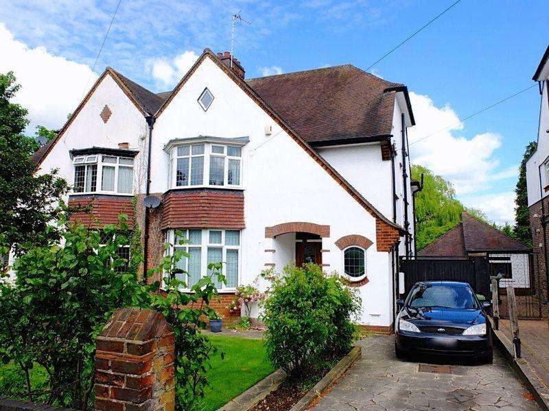 4 Bedrooms Semi Detached House for sale in Stockingstone Road, Luton **** 4 BEDROOMS WITH EN-SUITE TO MASTER ****