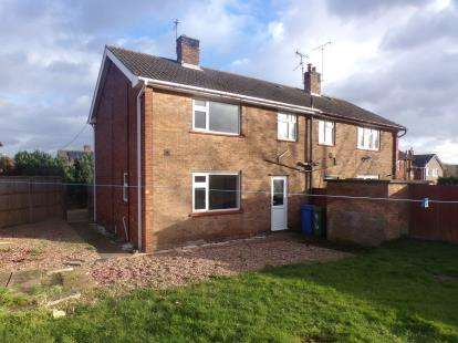 3 Bedrooms Semi Detached House for sale in Kneesal Close, Meden Vale, Mansfield, Nottinghamshire