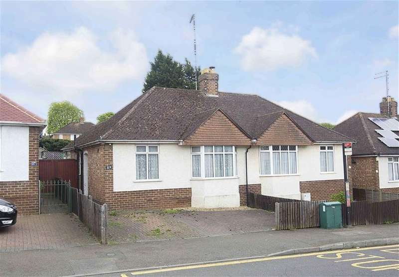 2 Bedrooms Semi Detached Bungalow for sale in Bryant Road, Kettering