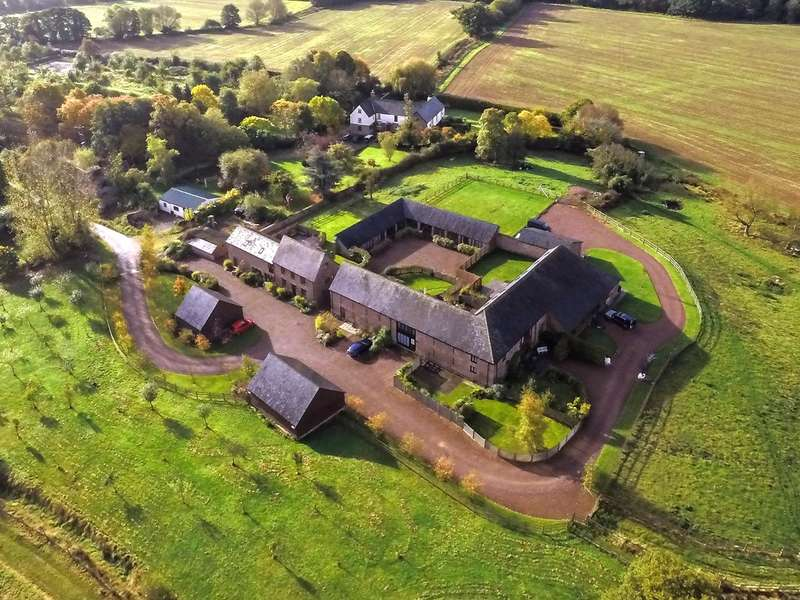 4 Bedrooms Barn Conversion Character Property for sale in Llanrothal, Monmouth