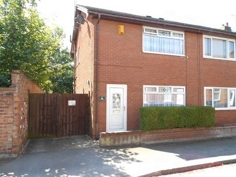 2 Bedrooms Semi Detached House for sale in Audley Street, Crewe, Cheshire