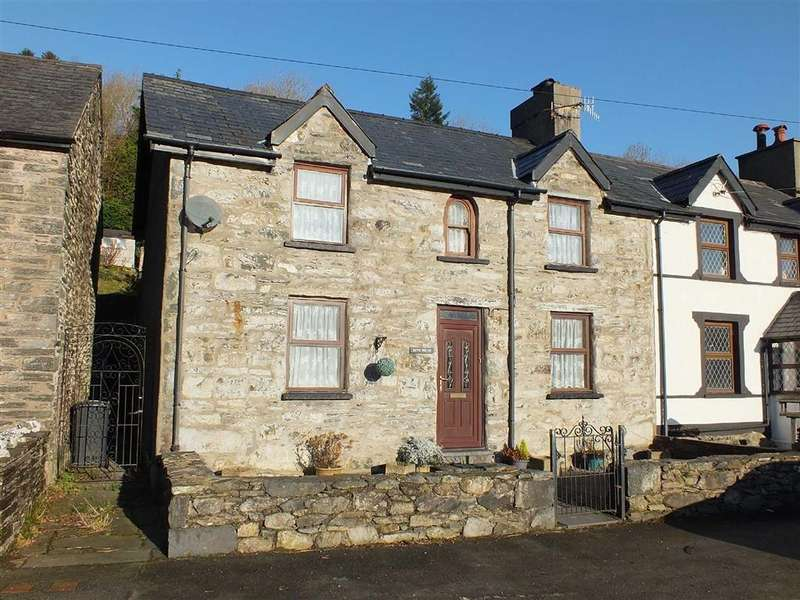 3 Bedrooms Semi Detached House for sale in Dolwyddelan