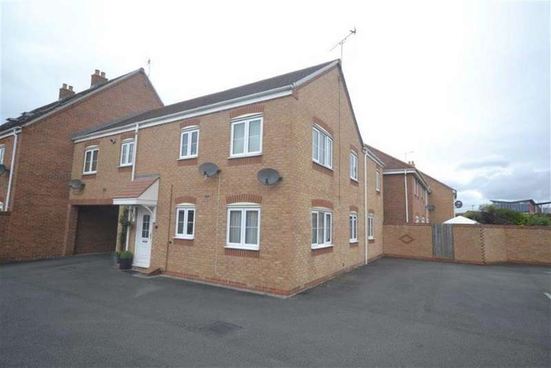 2 Bedrooms Flat for sale in Templar Drive, Stockingford, Nuneaton