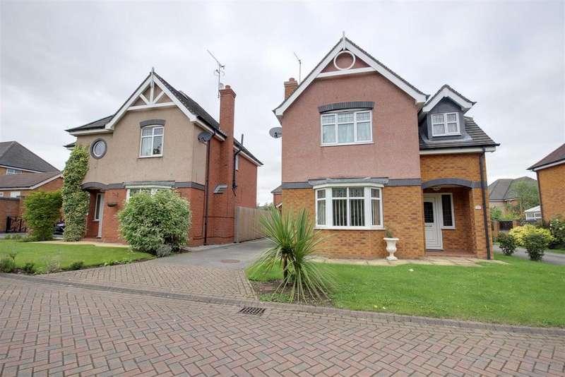 4 Bedrooms Detached House for sale in Hemmingway Walk, Hessle