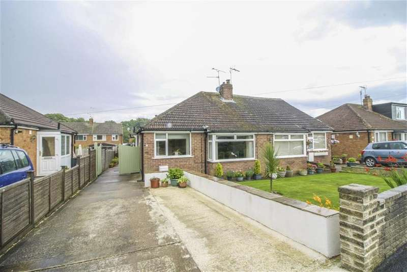 2 Bedrooms Semi Detached Bungalow for sale in Poplar Grove, Harrogate, North Yorkshire