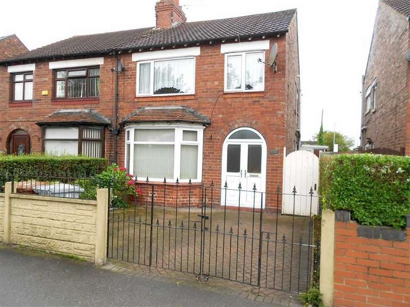 3 Bedrooms Semi Detached House for sale in Middlewich Street, Crewe, Cheshire