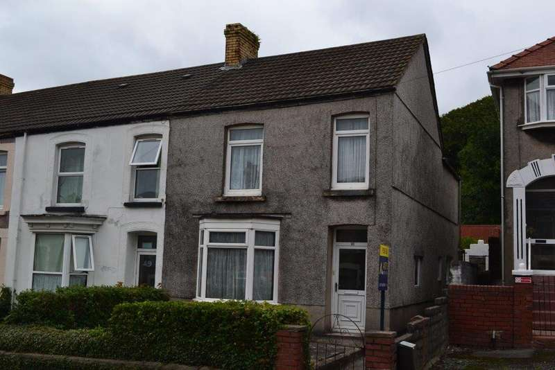 3 Bedrooms End Of Terrace House for sale in Ravenhill Road, Ravenhill, Swansea