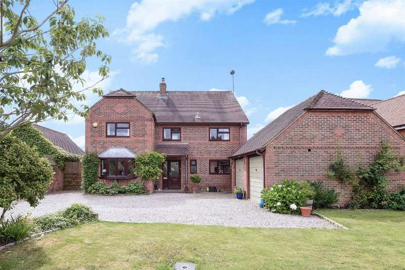 4 Bedrooms Detached House for sale in Upham, Southampton, Hampshire