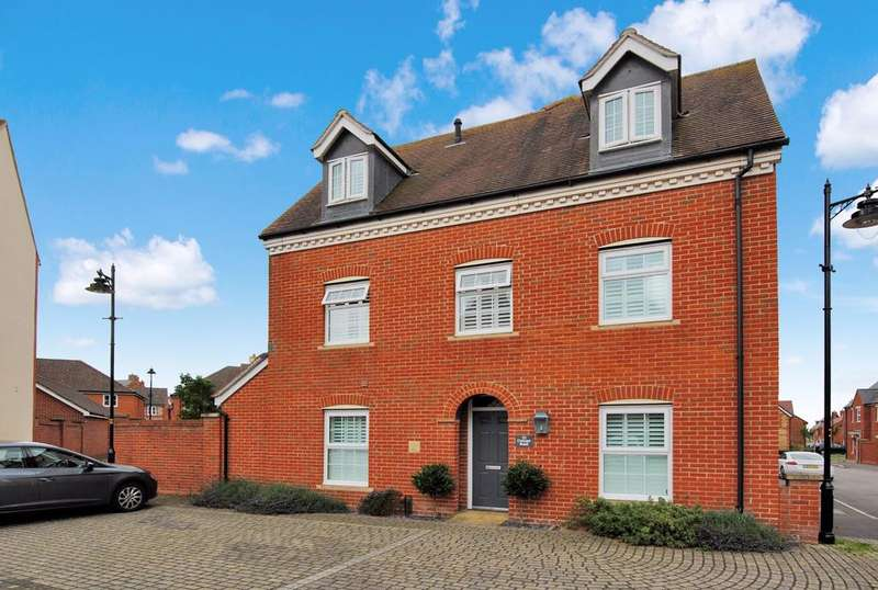 4 Bedrooms Semi Detached House for sale in Conyger Road, Amesbury, Salisbury, SP4 7YJ.