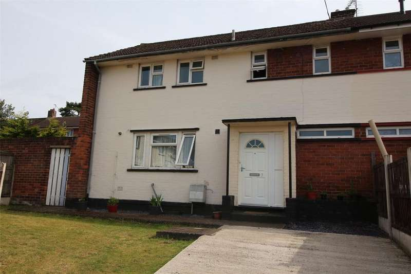 3 Bedrooms End Of Terrace House for sale in Burnham Gardens, Caia Park, Wrexham, LL13