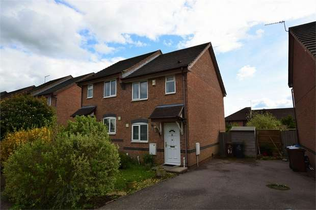 2 Bedrooms Semi Detached House for rent in The Weavers, East Hunsbury, NORTHAMPTON
