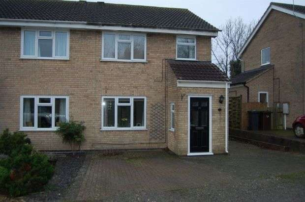 3 Bedrooms Semi Detached House for sale in Phillips Way, Long Buckby, Northampton NN6 7SF