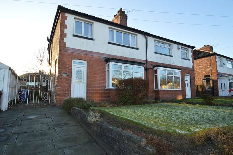 3 Bedrooms Semi Detached House for sale in Thatch Leach Lane, Whitefield, Manchester, M45