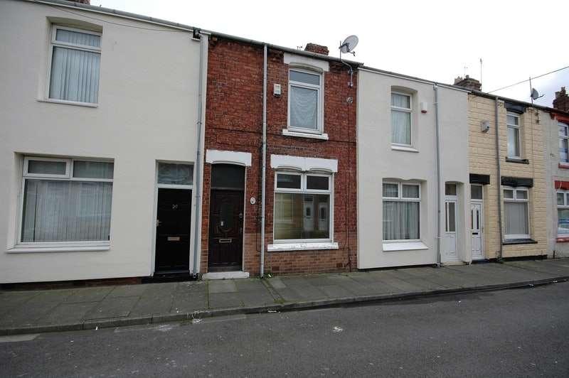 2 Bedrooms Terraced House for sale in Harrow Street, Hartlepool, Berkshire, TS25